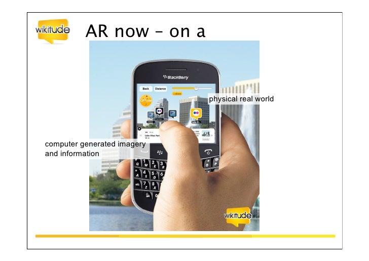 Agenda•Was ist Augmented Reality•Welches Problem kann Augmented Reality lösen•SoLoMo•Der Markt•Ausblick in die Zukunft    ...