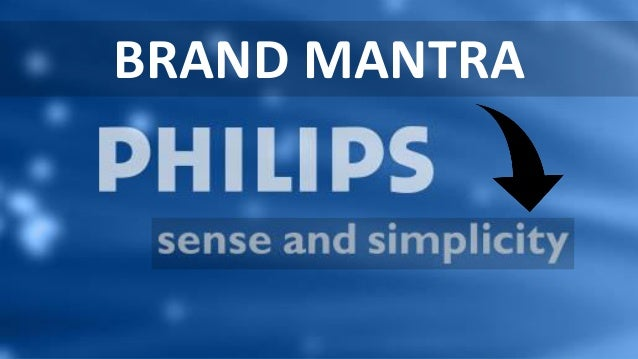 philips sense and simplicity The tagline, 'sense and simplicity' of philips is rather a success story when it comes to market other consumer products however, it was a different story when.