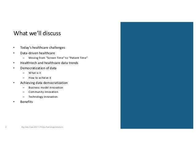 Philips Big Data Expo Slide 2