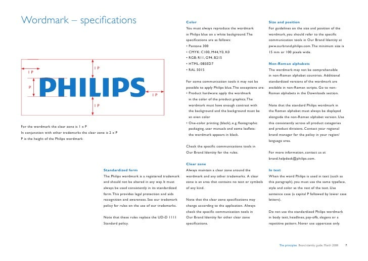 Wordmark – specifications                                                                            Color                ...