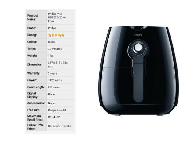philips air fryer digital vs manual