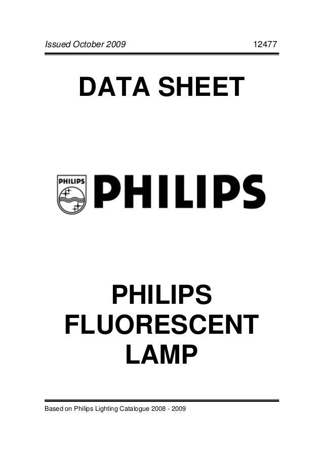 Philips fluorescent lamp