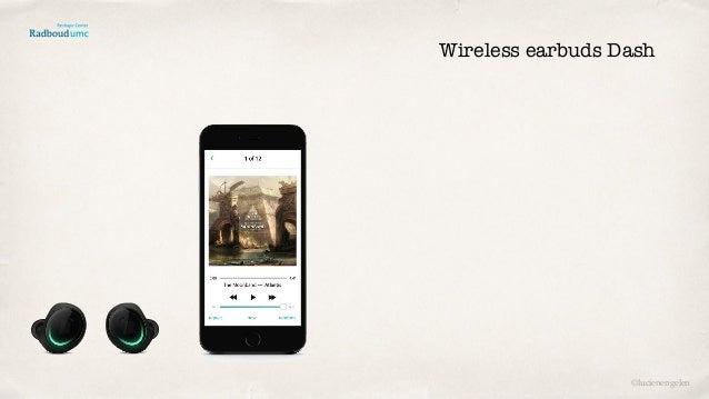 Wireless earbuds Dash ©lucienengelen