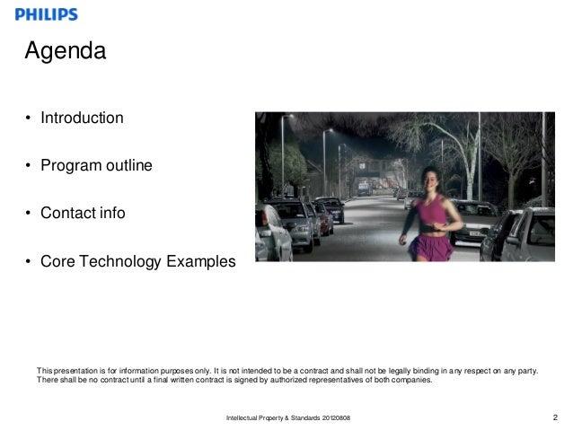 Licensing program for LED Luminaires and Retrofits Slide 2