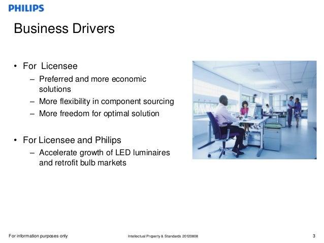 Licensing program for LED Luminaires and Retrofits Slide 3