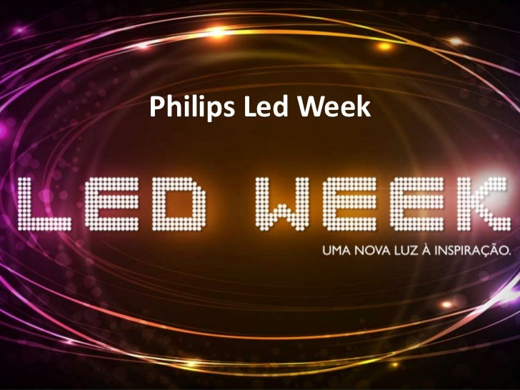 Philips Led Week