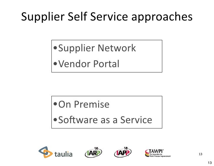 Technology Management Image: A High-Tech, Yet Low-Cost Approach To Supplier Self