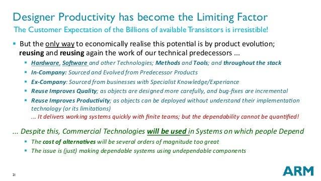 21 § ButtheonlywaytoeconomicallyrealisethispotenNalisbyproductevoluNon; reusingandreusingagainthework...