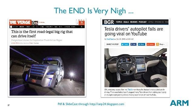 37 The END IsVery Nigh ... Pdf & SlideCast through http://ianp24.blogspot.com