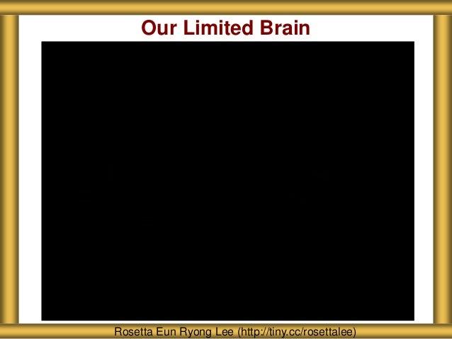 About Seattle Girls' School Rosetta Eun Ryong Lee (http://tiny.cc/rosettalee) Our Limited Brain