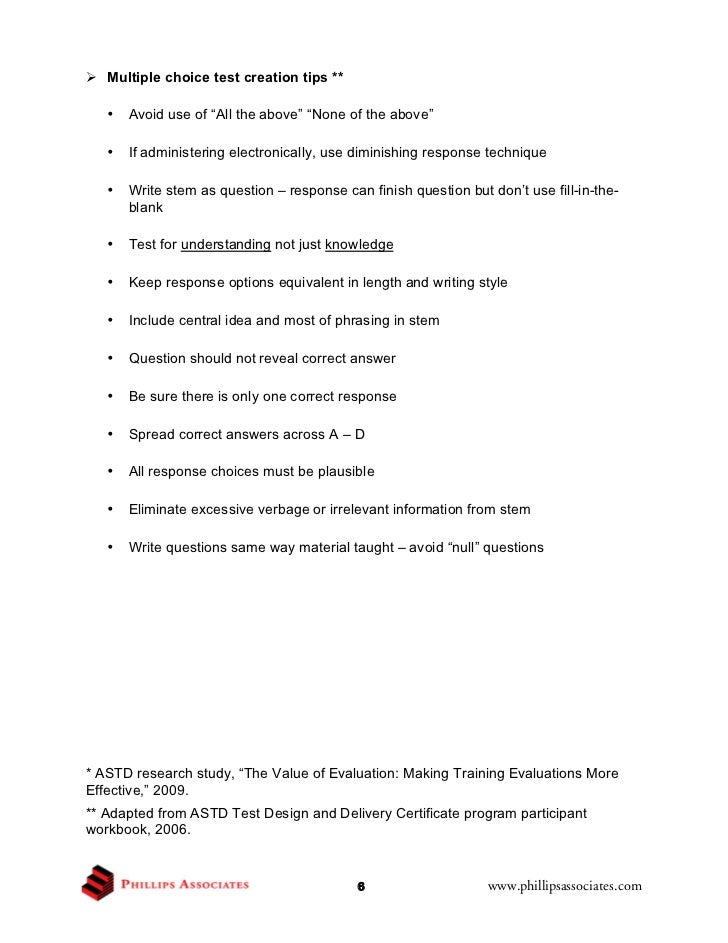 Cets 2011 ken phillips handout for construct the for Test templates for teachers