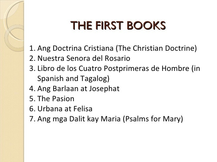 examples of poems of the philippines during spanish period The filipino revolutionists won against the spaniards who colonized  guerero  - he collected the best of his poem in a book called crisalidas,  isidro marpori  became famous for his four books entitled aroma de ensueno 3.