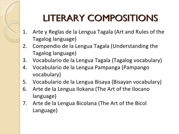 phillipine literary periods Notes on philippine literature: a history and anthology facts and information (illuminated by the chapter) 1 the first period of philippine literary history is the longest comment: on philippine literature: 1.
