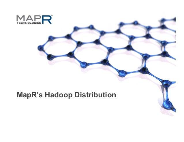 MapRs Hadoop Distribution