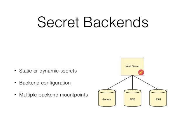 Chickens & Eggs: Managing secrets in AWS with Hashicorp Vault