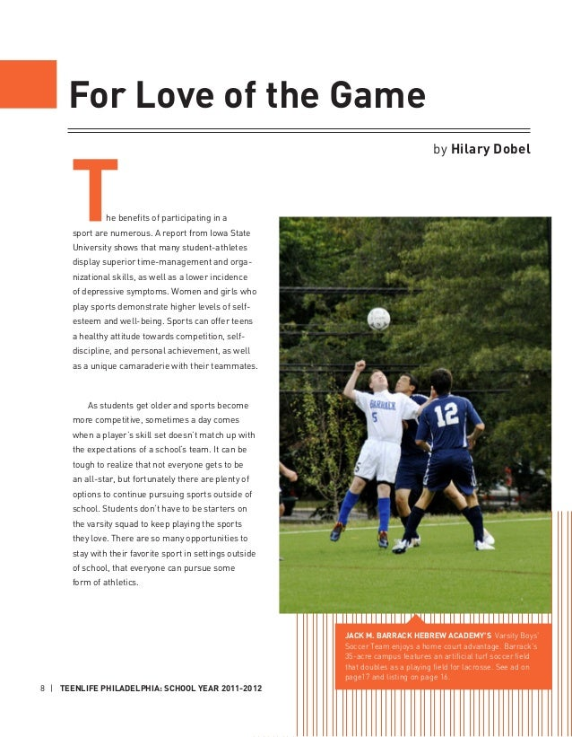 participating in sports can greatly benefit girls with low self esteem Participation benefits of youth sports  a child's self-esteem and self-efficacy can be harmed in this situation, and they may choose instead to avoid physical.