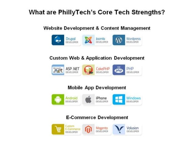 PhillyTech 3 Page Brochure - Tech, Digital & Social Selling Services Overview Slide 2