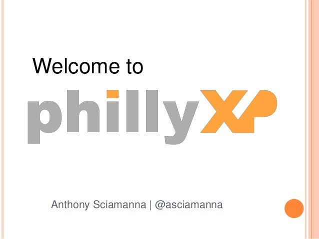 Welcome to Anthony Sciamanna | @asciamanna