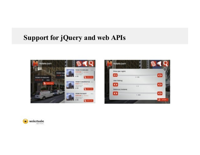 Support for jQuery and web APIs