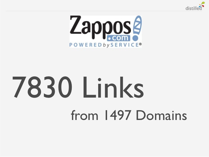 7830 Links    from 1497 Domains