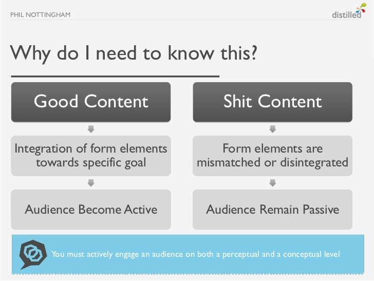 PHIL NOTTINGHAMWhy do I need to know this?     Good Content                                        Shit ContentIntegration...