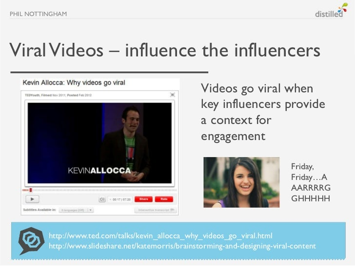 PHIL NOTTINGHAMViral Videos – influence the influencers                                                      Videos go vir...