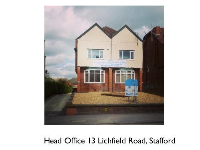 head office 13 lichfield road stafford 5 6 philip oakley