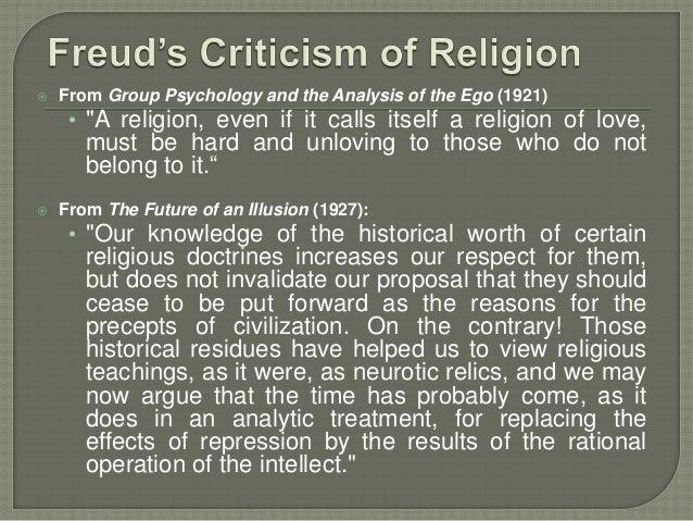 psychology of religion freud