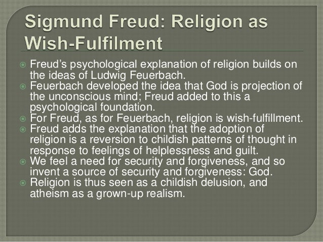 "freuds view on religion ""the cultural stance of contemporary psychoanalysis,"" she begins, ""is that of freud: religion is a neurosis based on wishes freud has been quoted over and over again without considering his statements in a critical light""  has understood better how to criticize freud's view of religion than a theologian who expresses great admiration for what various psychoanalytic theorists insist on telling us about god."