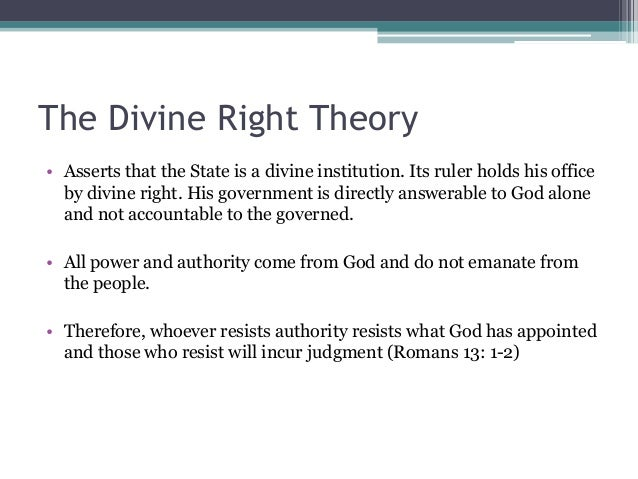 Pantheistic theory of the state