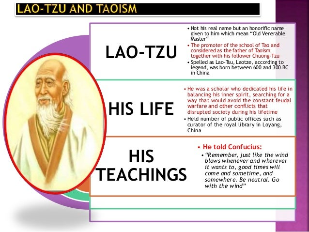 lao tzu taoism and moral philosophy essay Many religions will happily teach philosophy and dogma which in reflection  be  part of a personal tao and get exclusive teachings, audios, videos and  on  paper, the tao of confucianism is quite a bit different than the tao of taoism   using any teaching or moral standard to justify unkind behaviors is not  acceptable.