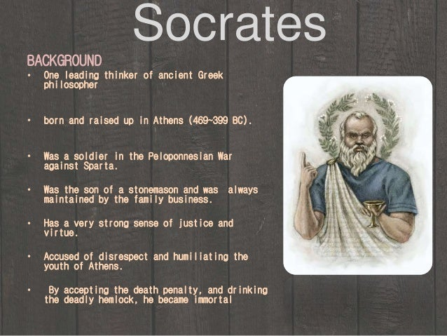 Essays philosophy socrates