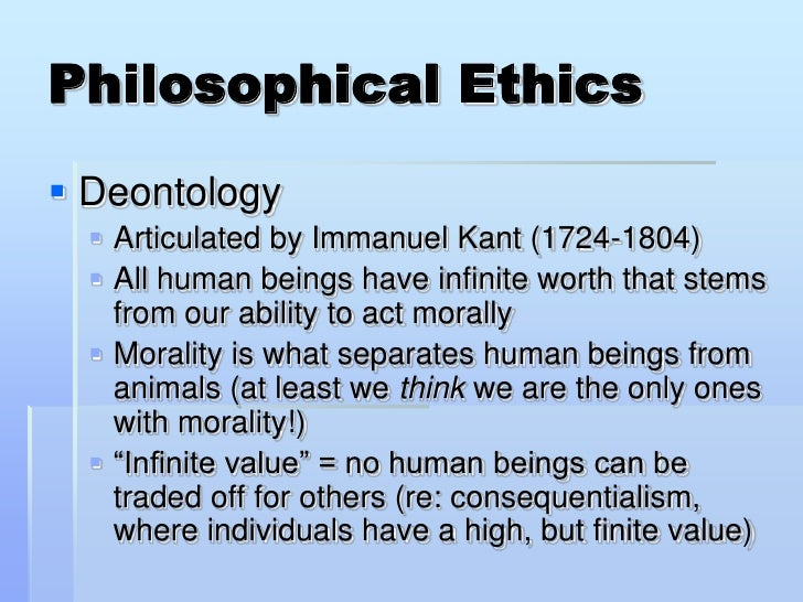 deontological consideration on affirmative action There are two broad categories of ethical theories concerning the source of value : consequentialist and non-consequentialist a consequentialist theory of value judges the rightness or wrongness of an action based on the consequences that action has the most familiar example consider these definitions: teleology.