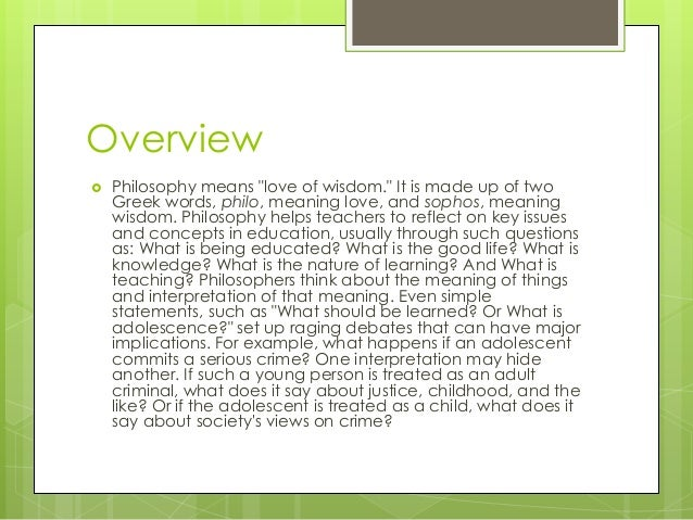 philosophical approaches in philippine education 2018-7-12 curriculum values while codeorg  even as we recommend and support a variety of pedagogical approaches  allowing others to make derivative education.