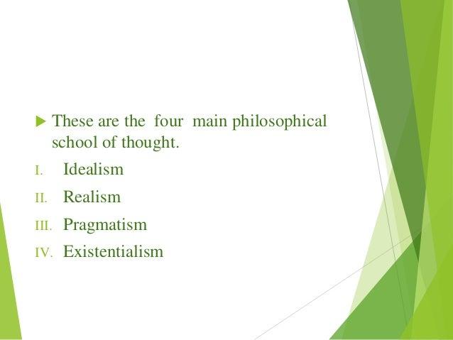 idealistic thoughts