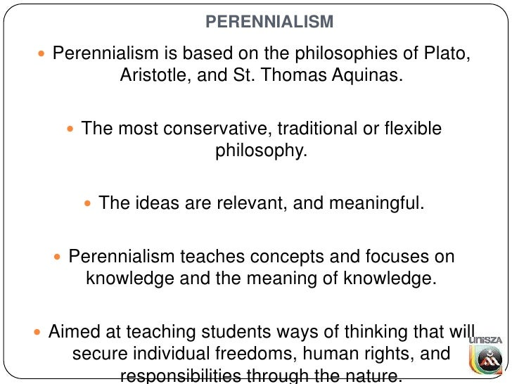 Educational perennialism - Wikipedia
