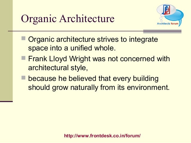 Frank Lloyd Wright Design Philosophy philosophies of f l wright