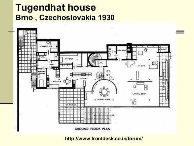 philosophies-of-mies-vander-rohe-10-638 Tugendhat House Floor Plan Diions on