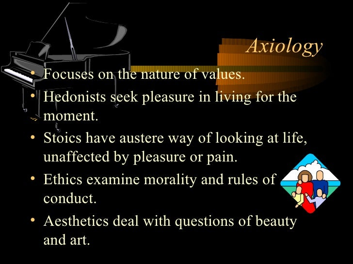 Axiology deals with