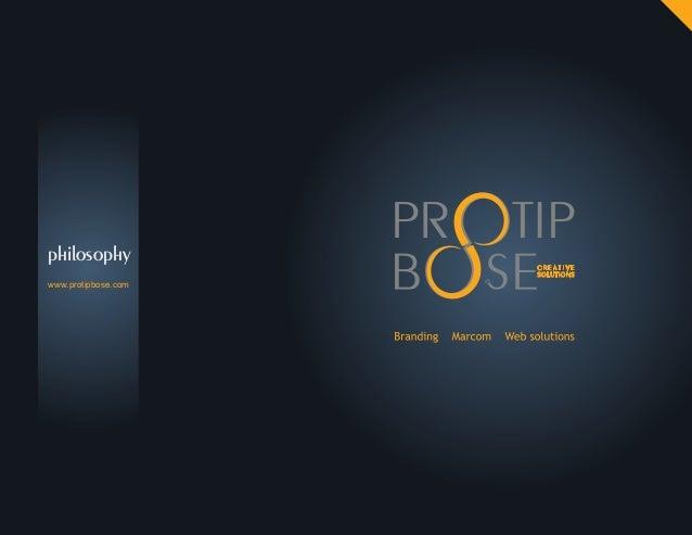 philosophy www.protipbose.com