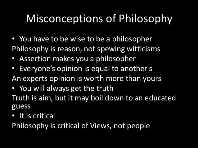 what makes a philosopher