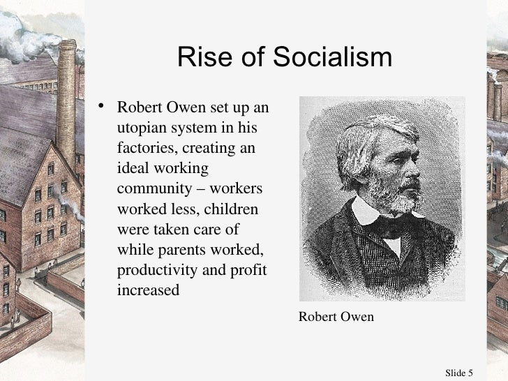 a comparison of philosophies between robert owen and karl marx Utopian vs scientific socialism workers of the world, unite so goes the famous rallying cry found in the communist manifesto, written by karl marx and.