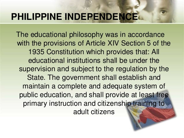 philosophical aims of education It combines idealist and realist philosophies in a framework that harmonized the   in idealism, the aim of education is to discover and develop each individual's.