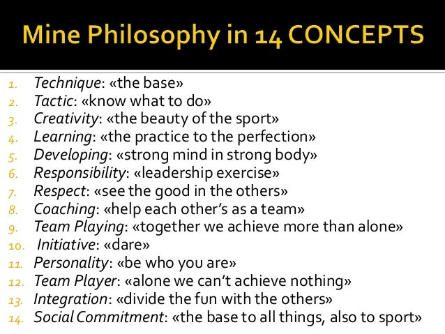 Johan CRUYFF: My Philosophy in 14 concepts
