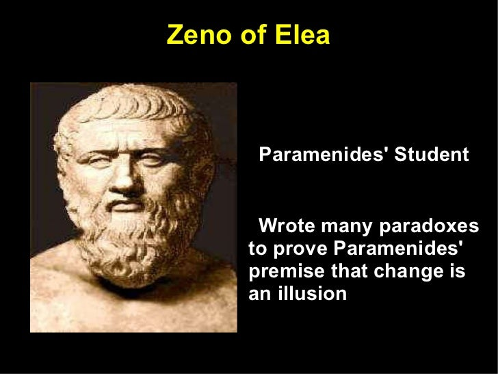 a comparison of change between parmenides and heraclitus The difference is in their view of change heraclitus believed all that is constant is  flux, while parmenides argued change is an illusion and being is one.