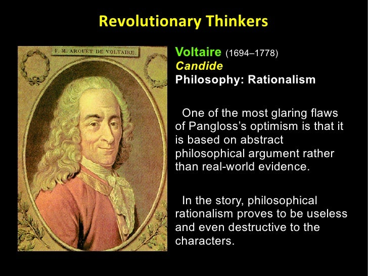 an analysis of leibnizs flaws in candide by voltaire Calls the sentimental foibles of the age and voltaire's attack on them flaws in  analysis is contentious voltaire  voltaire's candide,.