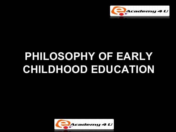 Early childhood education essay topics