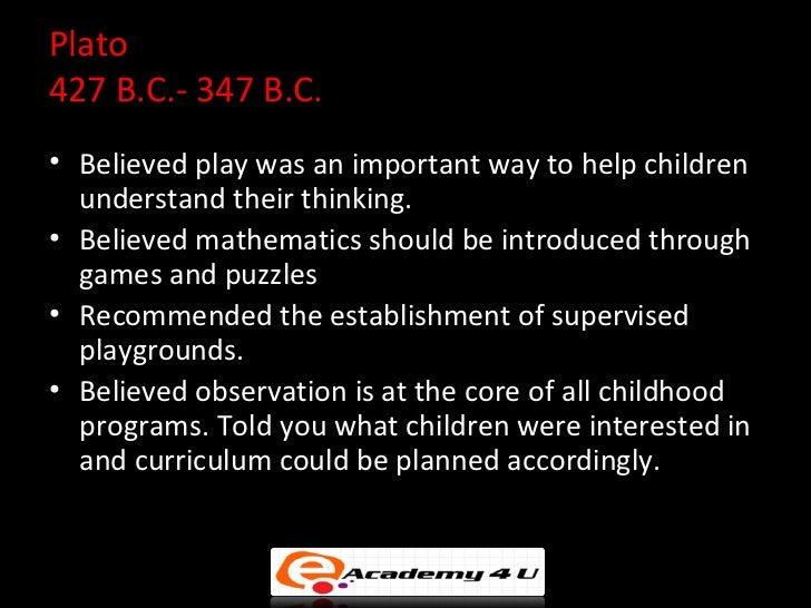 philosophy of childhood education