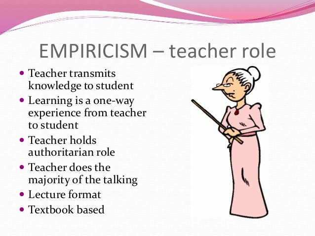 what is empiricism in research