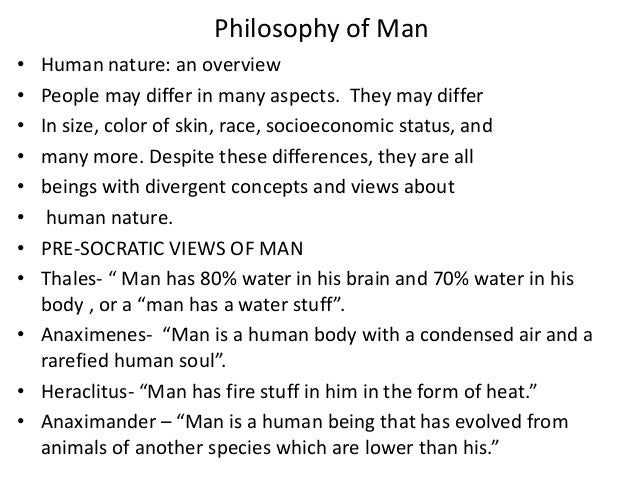 a description of how socrates describe and see philosophy of man